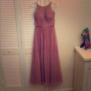Bridesmaid dress, Dusty Rose